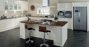 Kitchen Set Dengan Gaya Dapur Meja Island - Lemari Baju Minimalis